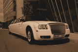 Limuzinu nuoma   7. CHRYSLER 300 C       12 seats  It's a particular, expressive and aristocratic appearance. The interior is shapely and considered in detail, the cabin is cosy. The perfect appearance is both from exterior and interior